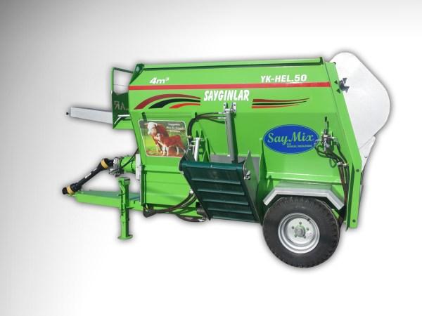 Feed Mixer Tmr Wagon 4m3 Tractor Powered