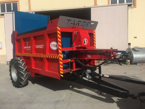 Manure Spreader Trailer – 5 Ton
