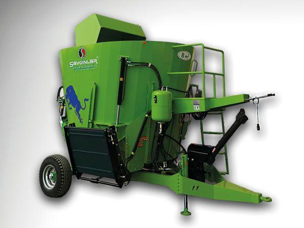 Vertical Feed Mixer Wagon 8m3