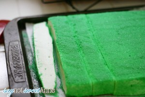 MineCraft Creeper Marshmallows How to