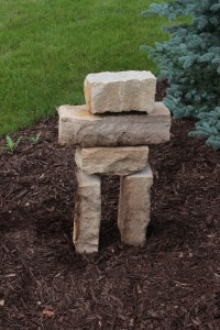 I like my second try at this Inuksuk better!