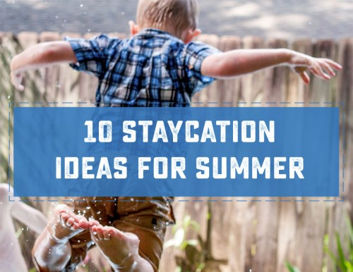 Going on Vacation doesn't have to mean a lot of time or travel to be fun! Check out these 10 Great Staycation ideas.   saynotsweetanne.com