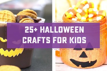25+ Adorable and Easy Halloween Crafts for Kids! These are sure to brighten your classroom or your dining room table this season. | saynotsweetanne.com