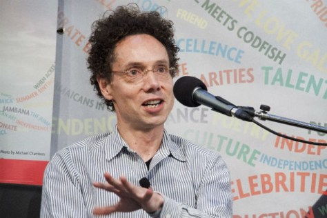Malcolm Gladwell at Toronto Public Library