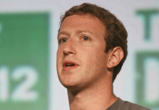 Mark Zuckerberg at TechCrunch Disrupt conference on Sept. 11, 2012 in San Francisco