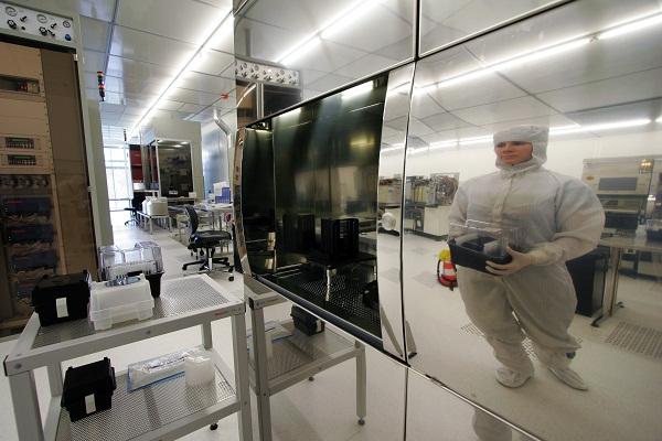 The MiNaLab nanotechnology laboratory in Oslo (Credit: SINTEF ICT)
