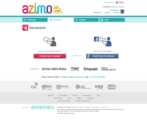 Azimo will allow the Facebook users to transfer money online