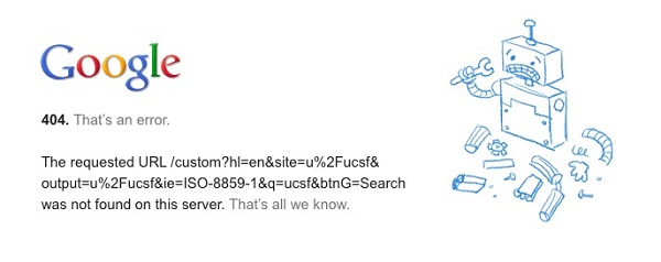 Google Error code 404 (Credit: Frank Farm/Flickr)