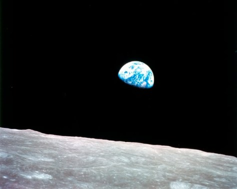 The photo known as Earthrise is the first color photograph of Earth taken by a person in lunar orbit. Earthrise is the cover photo of TIME's Great Images of the 20th Century, and is the central photo on the cover of LIFE's 100 Photographs That Changed the World. (Photo : NASA)
