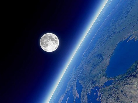 Earth and moon (Credit:  Beth Scupham/Flickr)