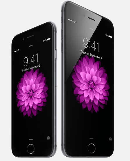 iPhone 6 and iPhone 6 Plus (Source: Apple.com)