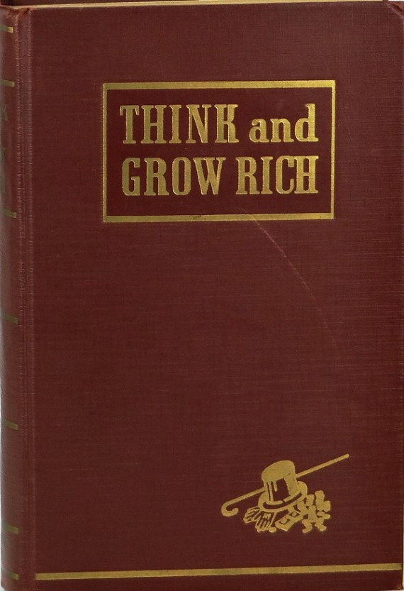 Think and grow rich (original cover)