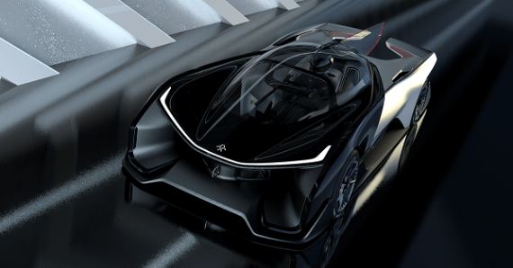 FFZERO1 Concept car by Faraday Future