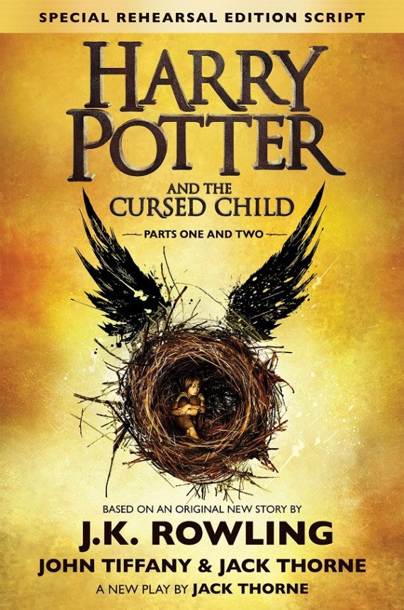 """Harry Potter and the Cursed Child"" by J.K. Rowling, Jack Thorne, and John Tiffany"