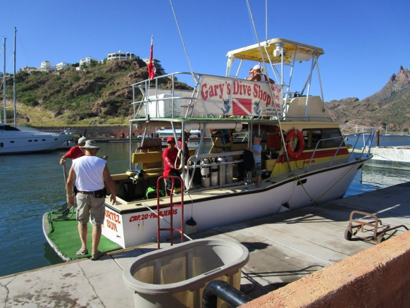 Gary's Dive Boat