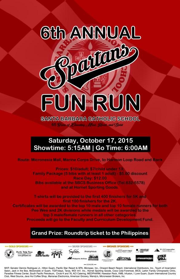 6th Fun Run poster new