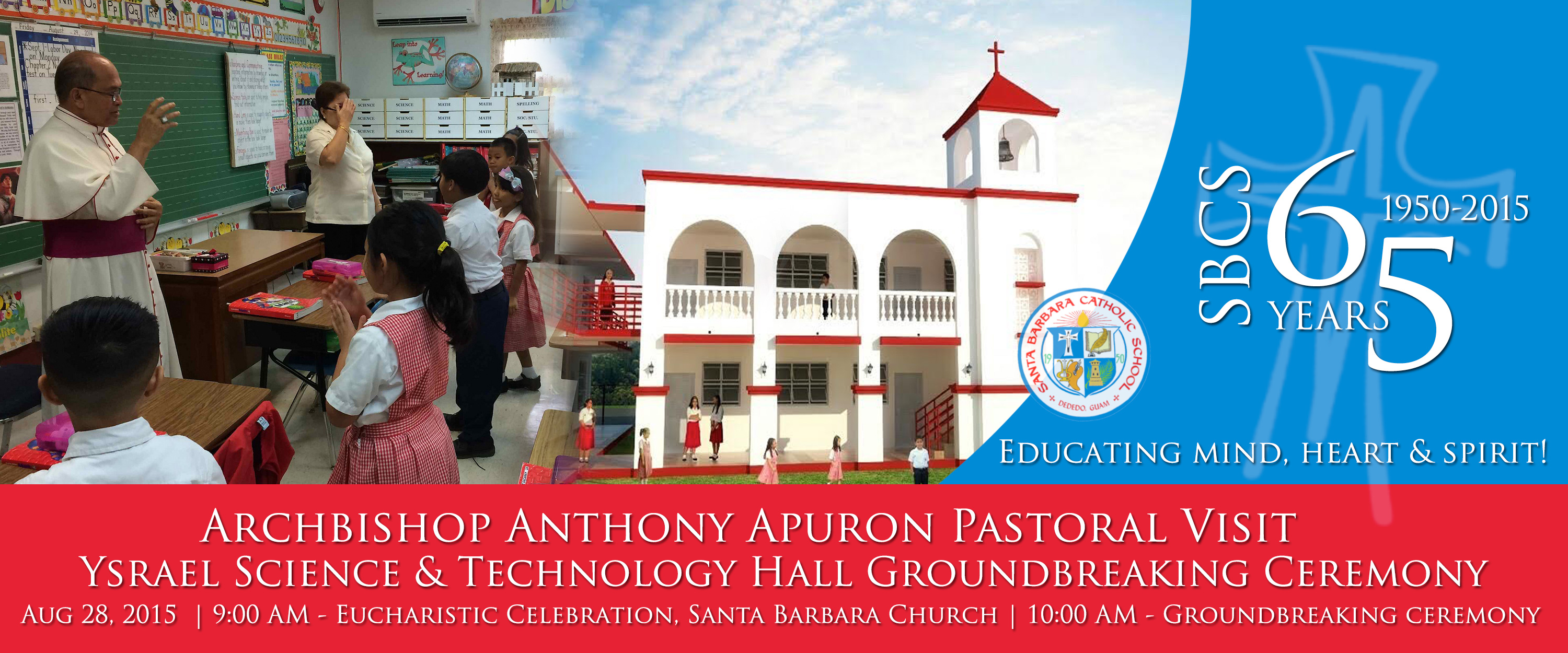 Pastoral Visit & Ground Breaking Ceremony