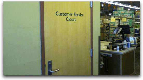 Customer Service Closet | Flickr - pswansen
