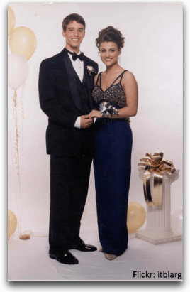 Eric and Kelly Boggs - Jr Prom 1997 - Flickr: itblarg