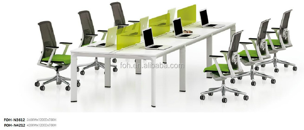 nice office furniture 4 seats modern open space workstation systemfohfc3214 buy workstationmodern system4 person s