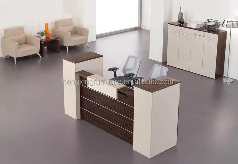 modern reception table design office desk hxrt14005 furniture designs n