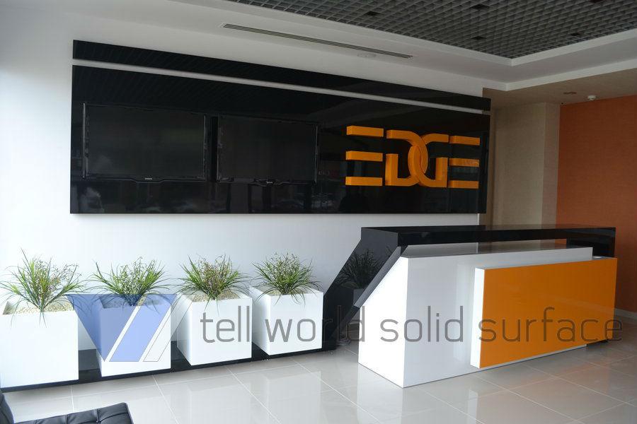 executive office furniture design new reception counter desk designs