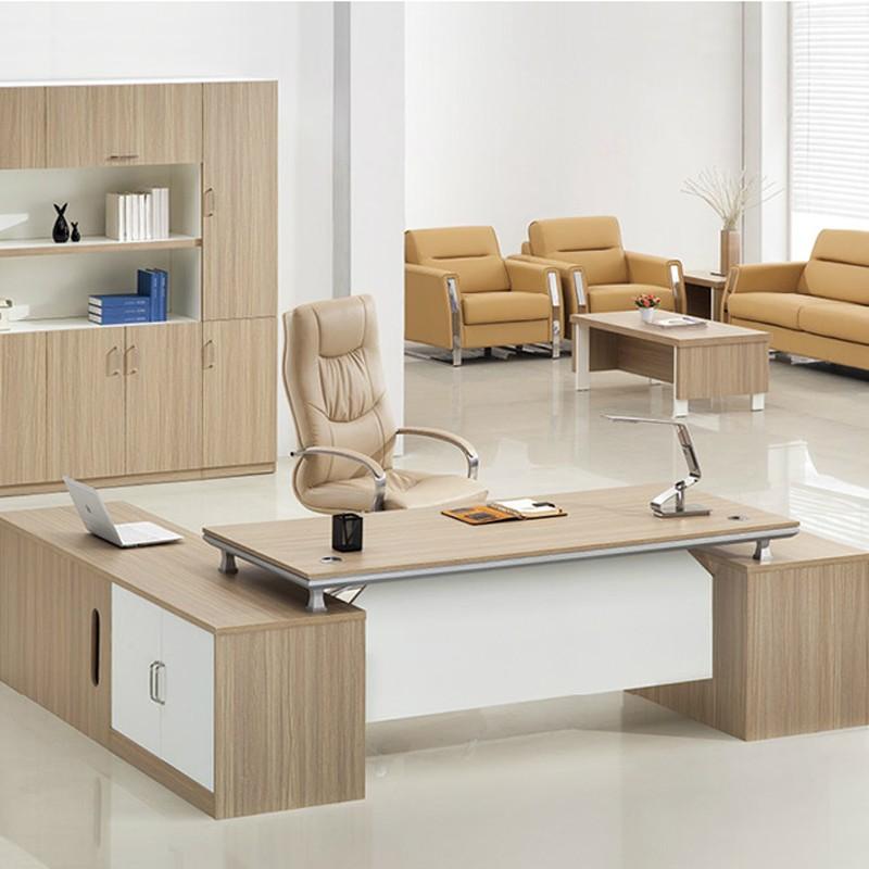 Professional Manufacturer Desktop Wooden Office Table Design Modern Executive  Specifications O