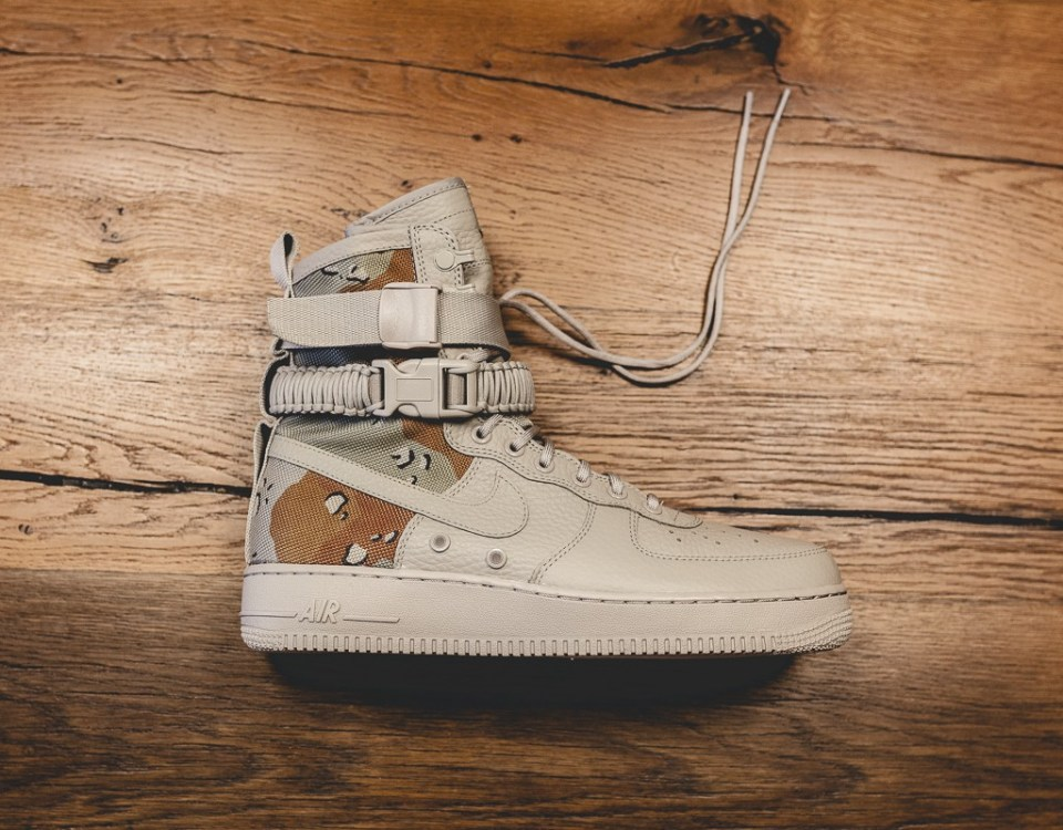 Nike Air Force 1 SF Dessert Camo