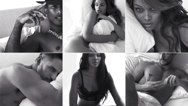 Pillow tweets: Hot naked celebrities via W magazine will make you salivate.