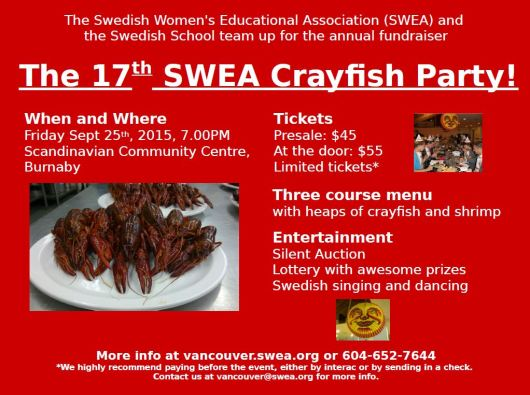 Crayfish Party 2015