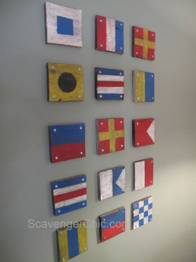 Pallet Signal Flags
