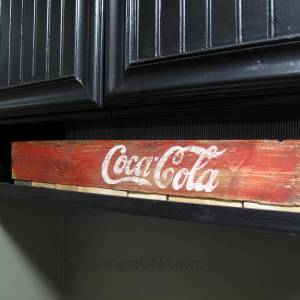 DIY Coca Cola and Borax crates