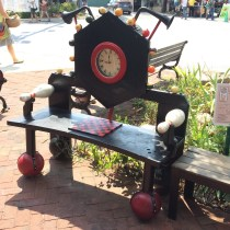 Bowling Ball Bench