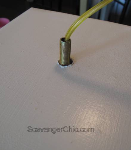 How to wire your own lamp, diy with pictures