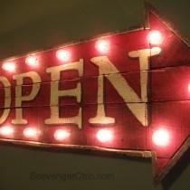 Pallet Wood Open Sign
