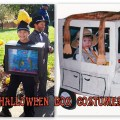 Homemade Halloween Costumes, box costumes, Halloween