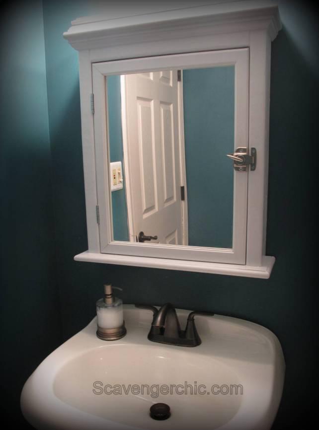 Mirror Medicine Cabinet diy