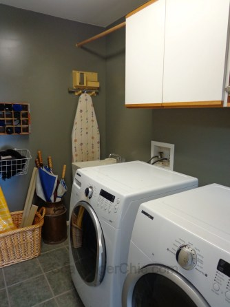 ironing board cabinet, ironing board cabinet diy, hideaway ironing board, laundry room cabinet