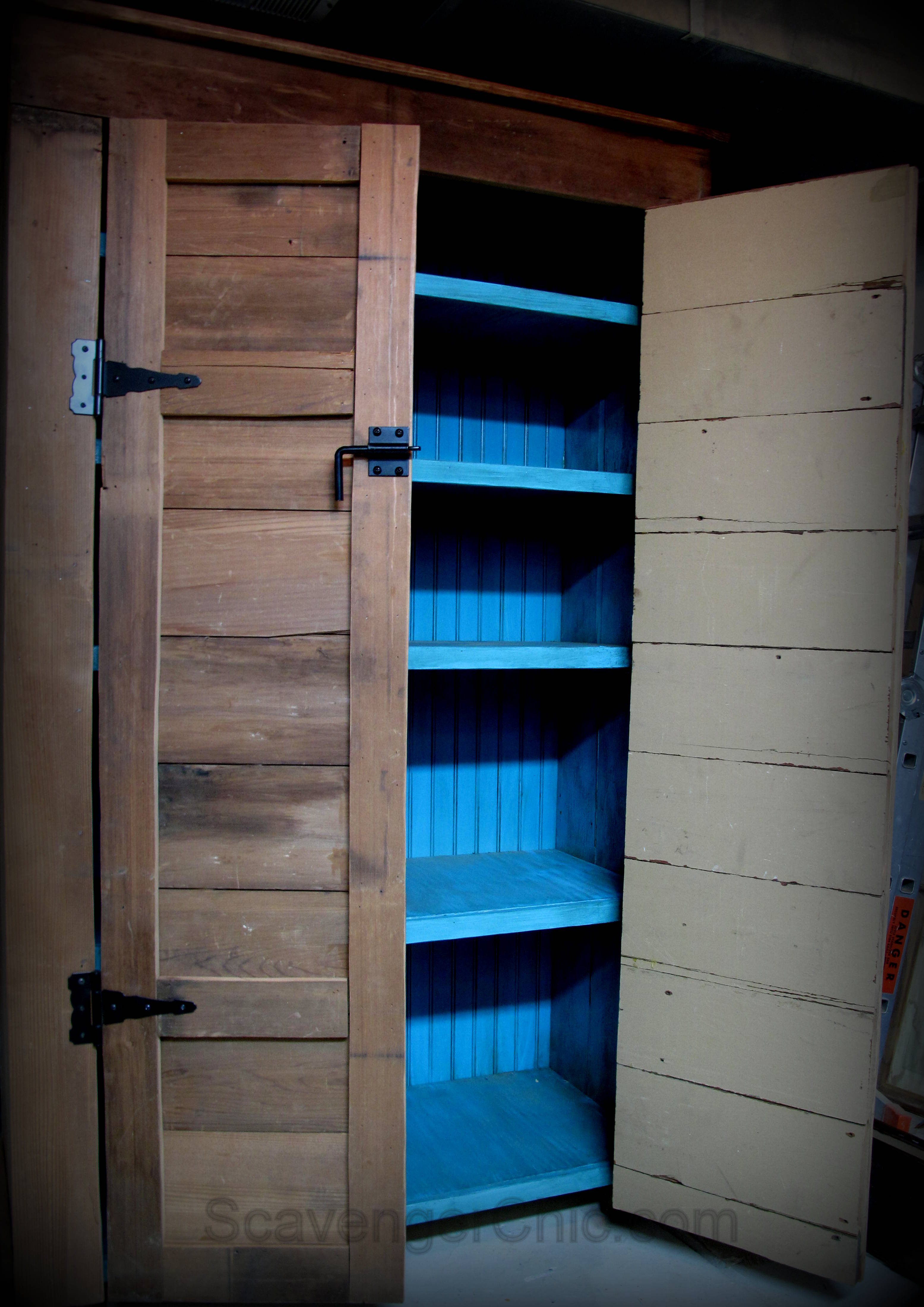 Learn How To Build This 6 1/2 Ft Rustic Country Cupboard / Jelly Cabinet