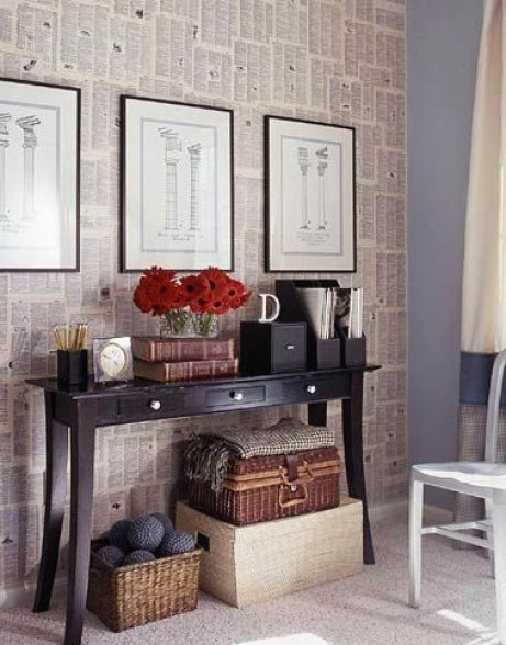 20+ Amazing Recycled Wall Ideas-How To Make a Dictionary (etc) Wall - Google Chrome 2272015 30950 PM.bmp
