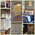 20 Amazing Recycled Wall Ideas