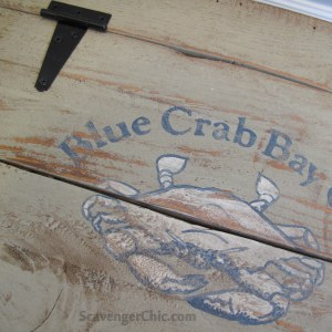 Crabby Fruit Crate Makeover diy