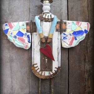 Mosaic Junk Angel