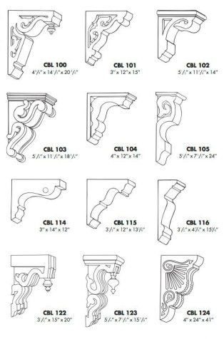 Design your own corbel