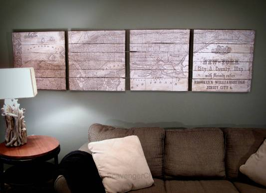 Pottery Barn Inspired Planked New York Map-001