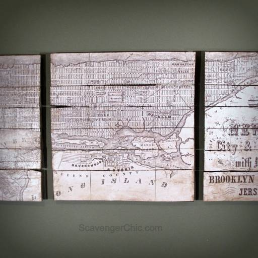 Pottery Barn Inspired Planked New York Map-004