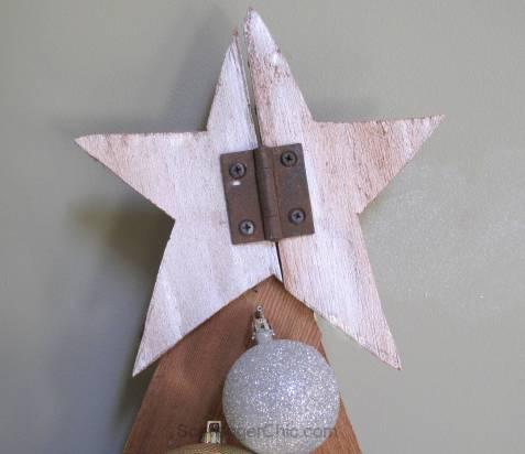 6ft Advent Calendar Christmas tree, cedar shingles, wood christmas tree, great for small spaces