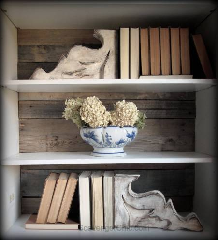 Corbels used as Bookends