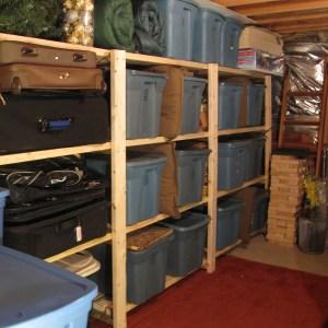 Storage Room Storage Shelving