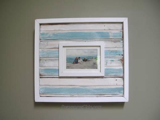 Vintage Bead Board Frame